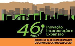 banner do 46 congresso da Sociedade Brasileira de Cirurgia Cardiovascular